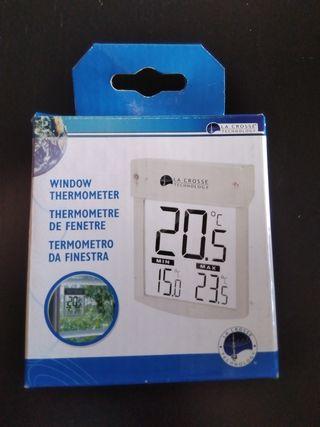 Termómetro de ventana.