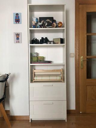 Librería IKEA BRIMNES , blanco, 60x190 cm
