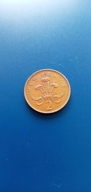 UK 2p New pence 1981