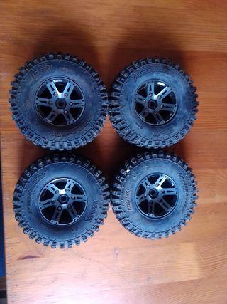 ruedas crawler
