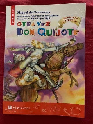 "Libro de Lectura ""OTRA VEZ DON QUIJOTE"" 2°Parte"