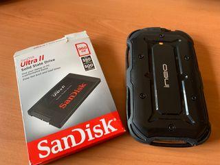 SSD SANDISK ULTRA II 1TB + CAJA IPX6 USB C