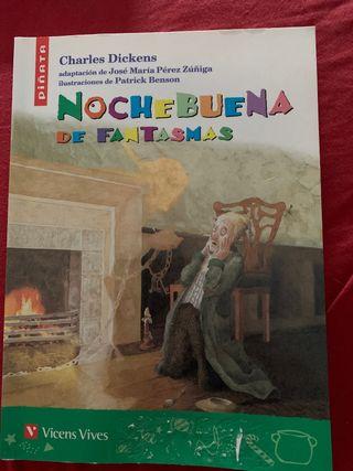 """Libro de Lectura """"NocheBuena de Fantasmas"""""""