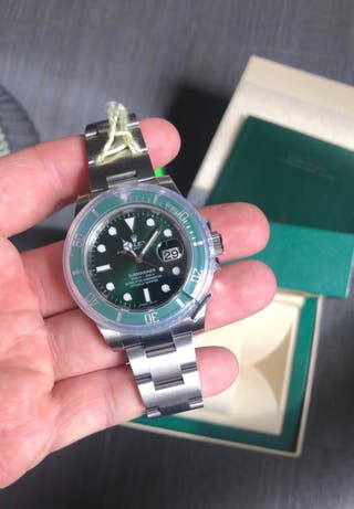 "Rolex submariner ""hulk """
