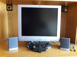 "Monitor HP 17"" TFT con altavoces"