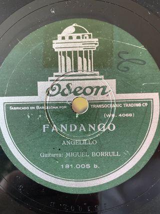 Disco de pizarra de Angelillo