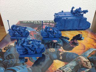 Warhammer 40000 marines espaciales.