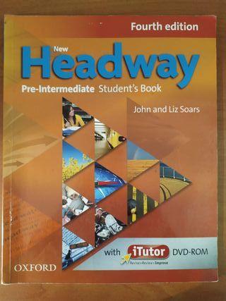 Libro inglés Headway Pre-Intermediate