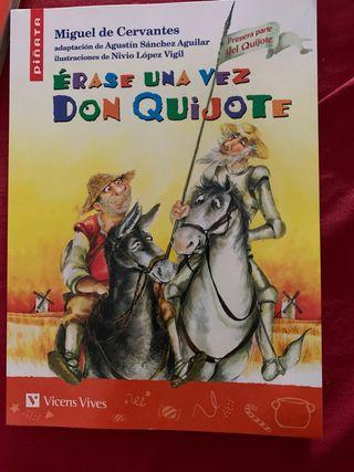 "Libro de Lectura ""Otra vez Don Quijote"" 1°Parte."