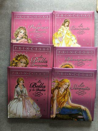 6 Cuentos princesas
