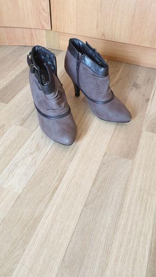 zapato caña