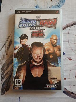 Smack Down vs Raw PSP