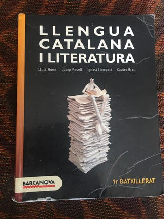 Libro Llengua catalana i literatura 1r Batxillerat
