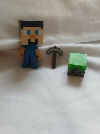 Figura Minecraft de 14cm