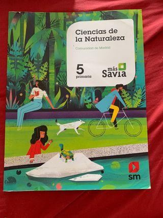 Libro De Ciencias de la Naturaleza 5° Primaria SM