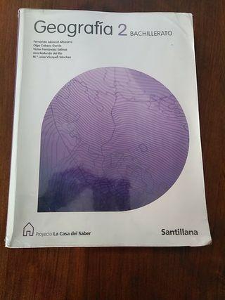 Libro de geografía 2 bachillerato