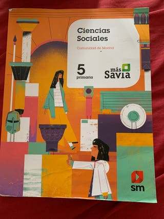 Libro Ciencias Sociales. Curso 5° Primaria SM.