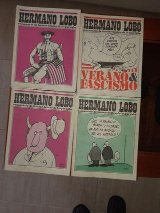Revistas cómics antiguos