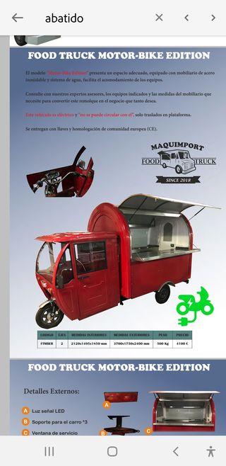 FOOD TRUCK MOTO-BYKE EDICION