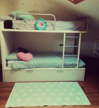Literas habitación juvenil
