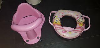 Accesorios de baño para niña