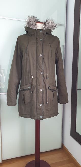 Parka abrigo con capucha