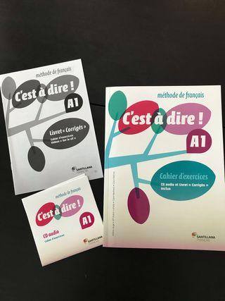 C'est à dir A1 cahier d'exercices Francés