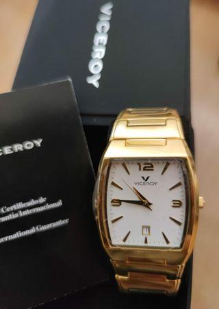 Reloj Viceroy Mujer dorado NUEVO