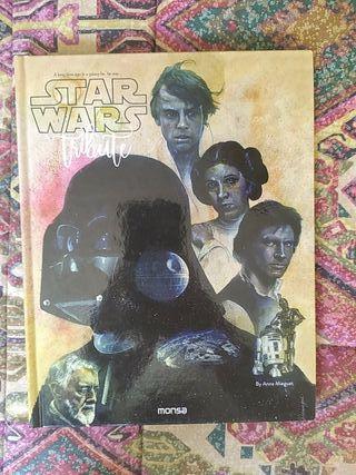 Libro Star Wars Tribute by Anna Minguet NUEVO