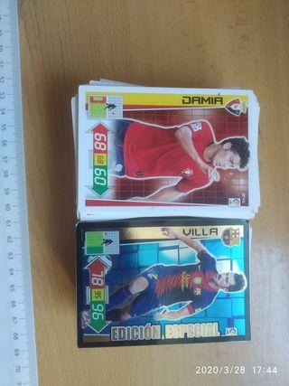 195 cards Adrenalyn 2012/2013
