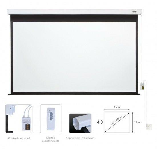 Proyector Full HD 3D con dos gafas y Pantalla