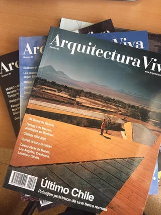 Pack de revistas Arquitectura Viva