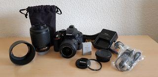 Nikon D5300 + Nikkor 18-55 VRII + Nikkor 55-200 DX