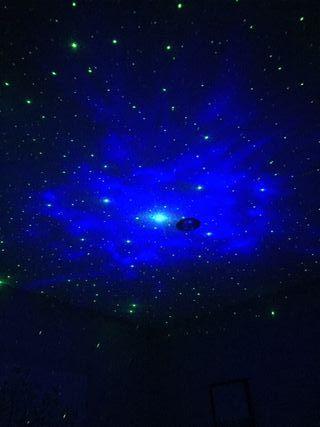 Proyector Láser de Estrellas