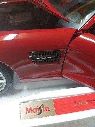 1/18 maqueta Mercedes AMG GT exclusive