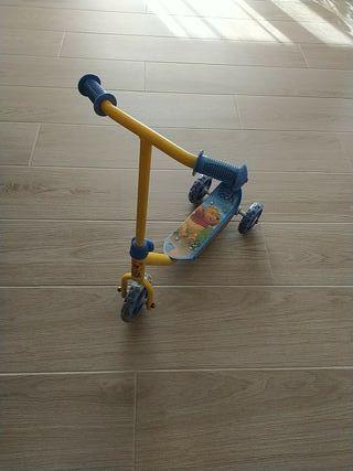 Patinete Winnie de Pooh (juguete/aire libre)