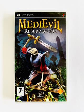 MEDIEVIL RESURRECCION - psp