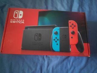 Nintendo switch + 2 fundas