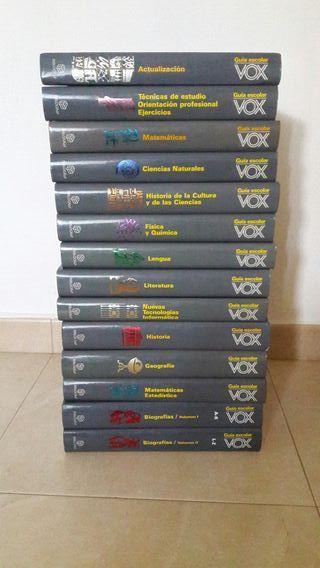 Enciclopedia Escolar Vox año 1992