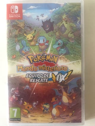 Pokemon mundo misterioso Nintendo swith