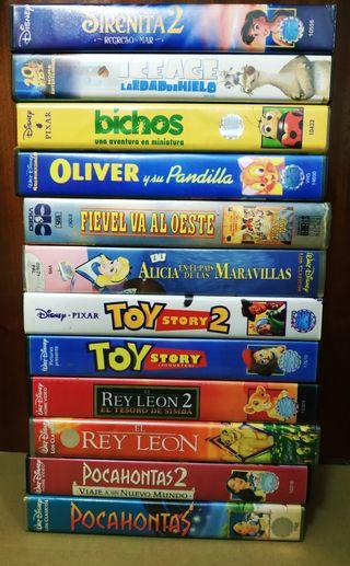 Películas infantiles VHS