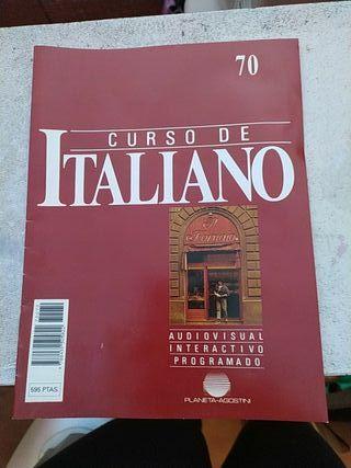 LIBROS DE CURSO DE ITALIANO