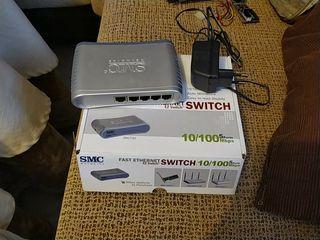 SMC Ethernet Switch 5 puertos