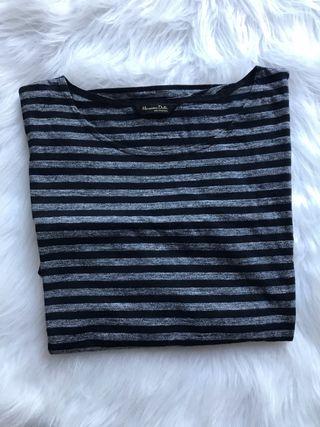 Camiseta oversize Massimo Dutti talla M