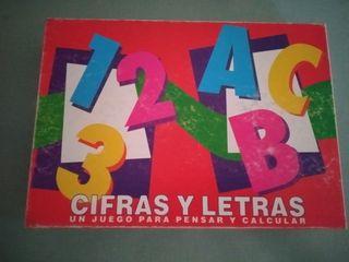 juego cifras y letras