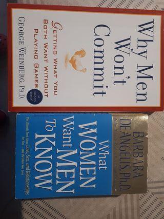 pack 2 libros en inglés psicología relaciones