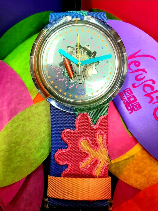 Swatch Pop Veruschk