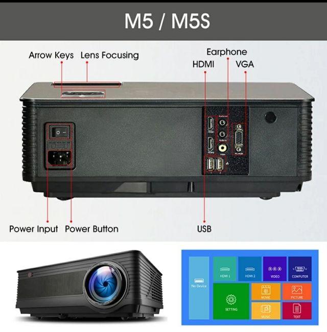Proyector Alstom M5 M5W Full HD 1080 4k