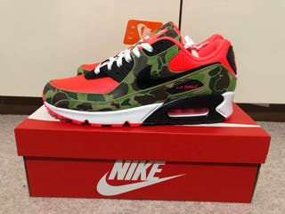 Nike Air Max 90 'Duck Camo' SP Infrared/Black UK9