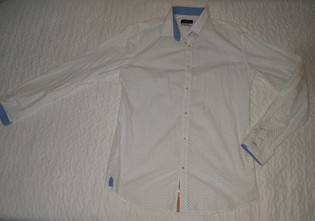 Camisa hombre JVZ Slim fit